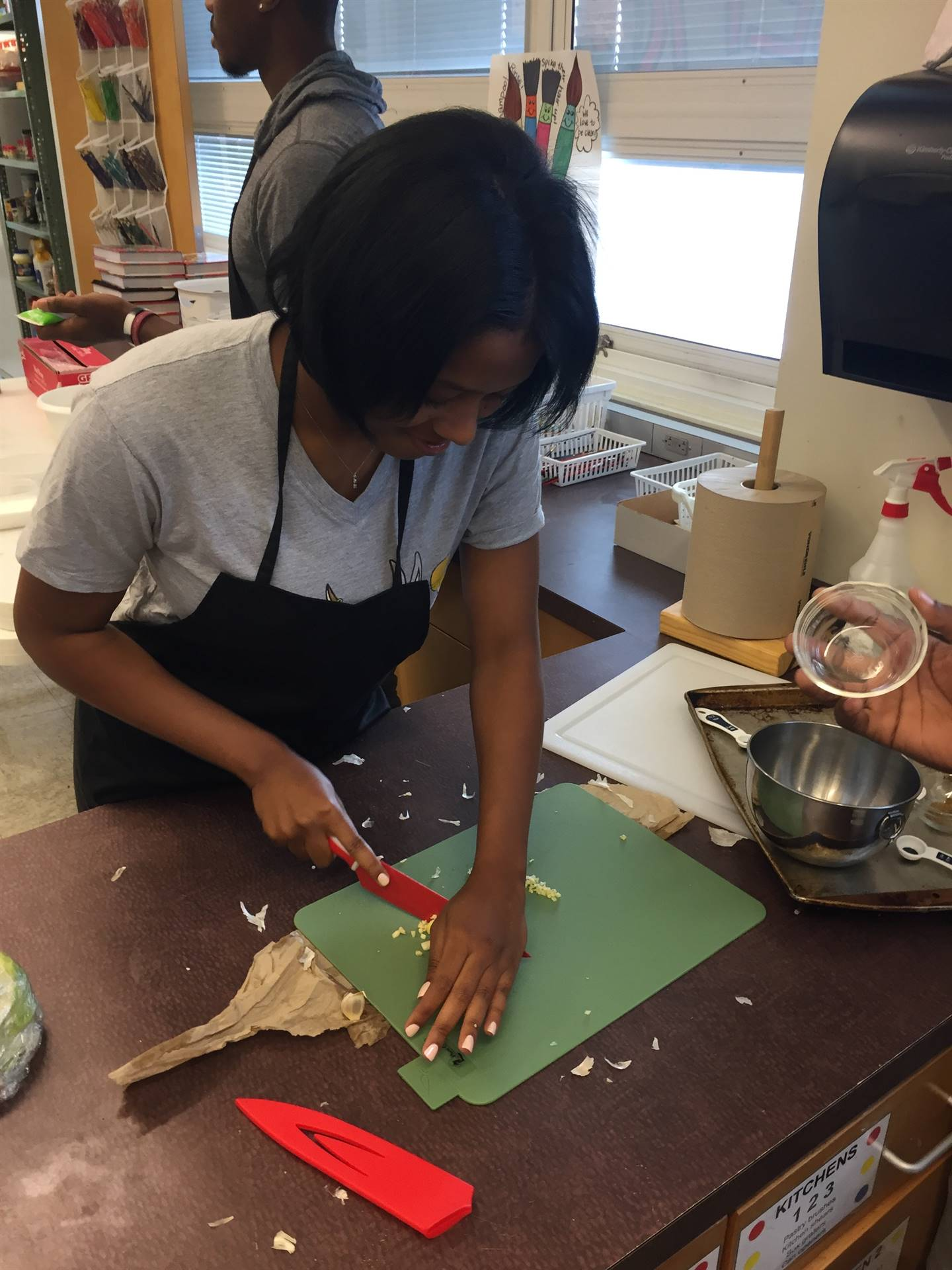 Food Service Students Make Soft Tacos