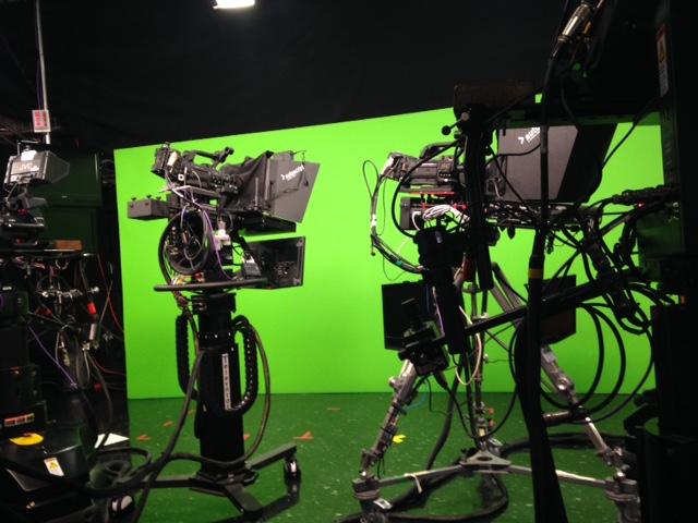cameras on set