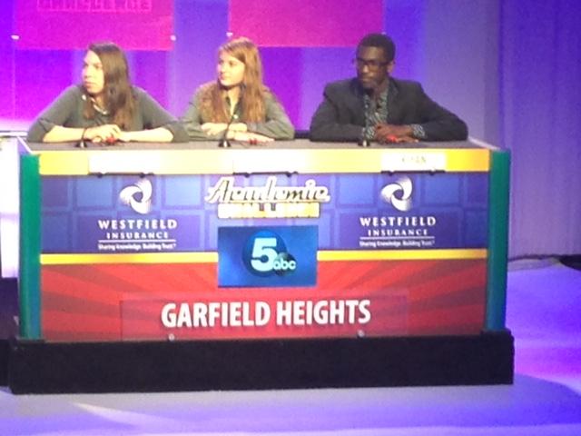 Garfield Heights academic challenge team