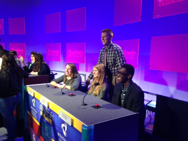 academic challenge team and coach