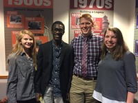 the Garfield Heights High School Academic Team