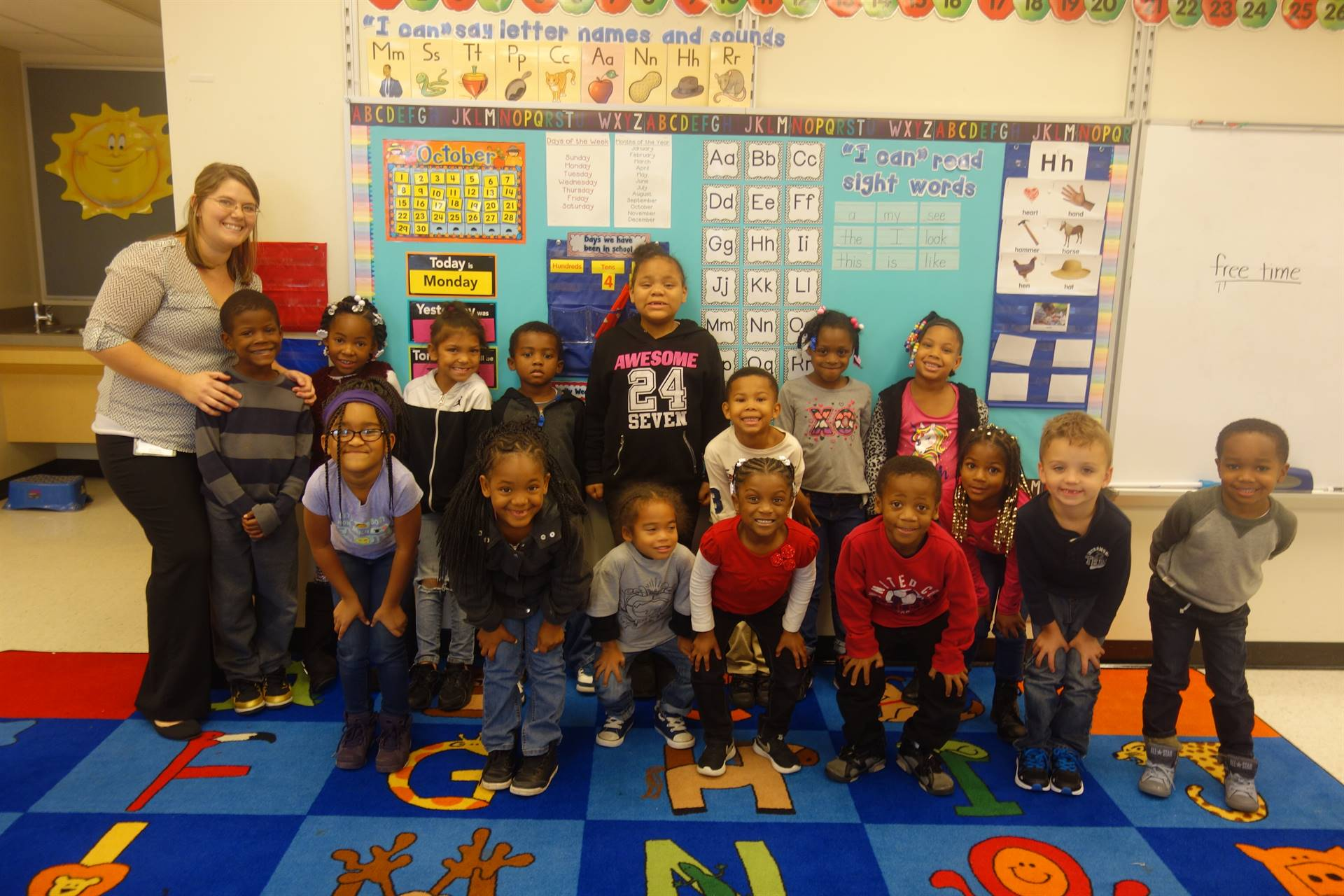 Kindergarten - Mrs. Reichard