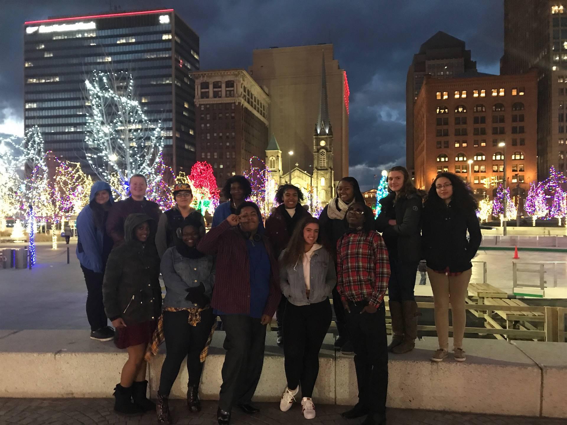 Art Club at Public Square Ice Rink
