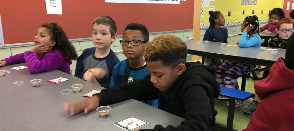 Students at Elmwood recently participated in the November PAWS Bingo Party. The students had so much fun and the winners of each round won great prizes. ?