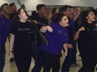 Music Express Visits Seniors at the Civic Center 2017