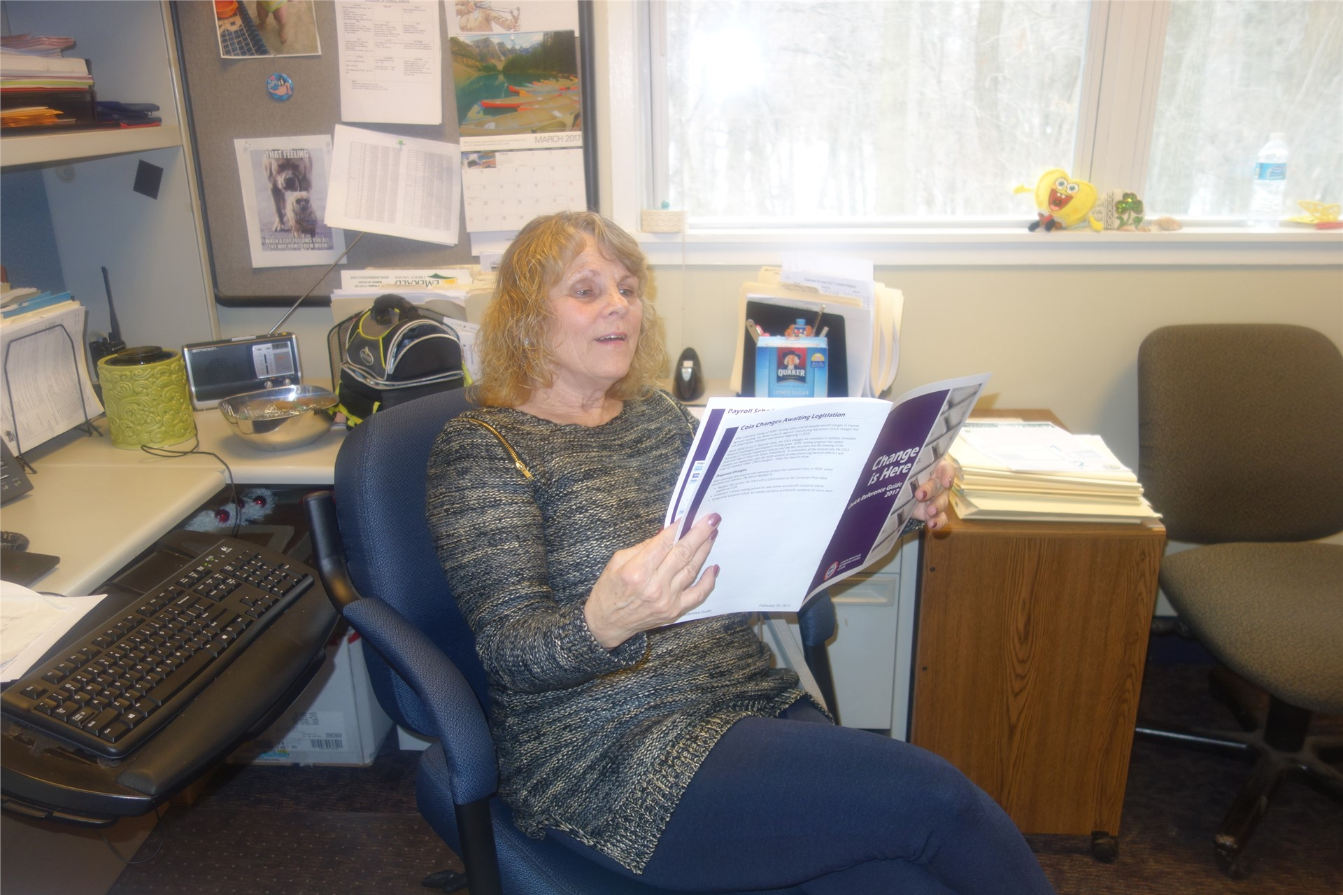 Kathy Hanus, Supervisor Fiscal Office Operations/Payroll Coordinator