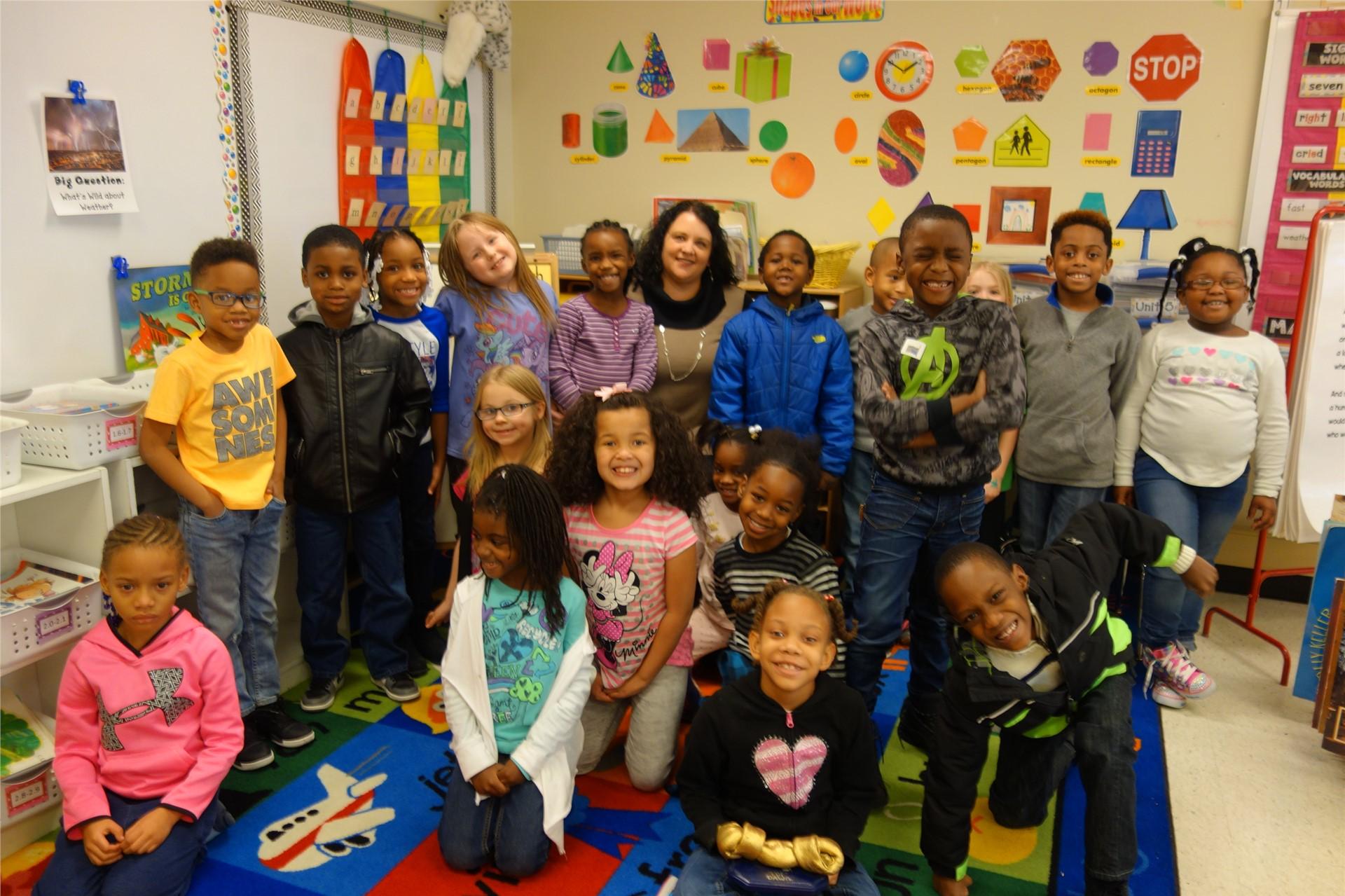 Mrs. Horvath - 1st Grade