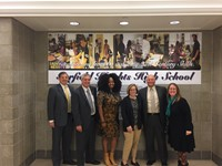 Board Visit from Representative Howse