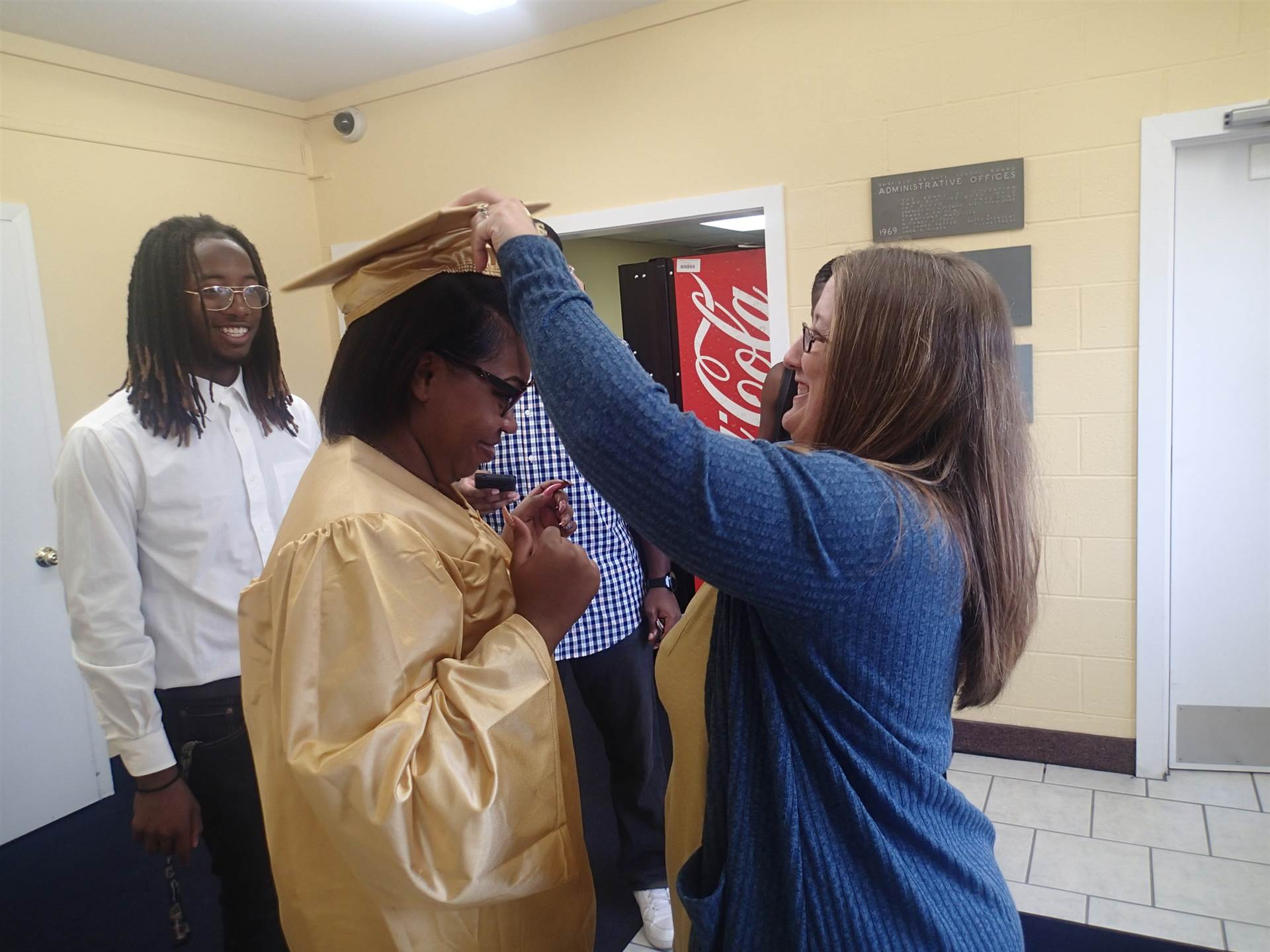 Graduation pictures for Sharesse Watts