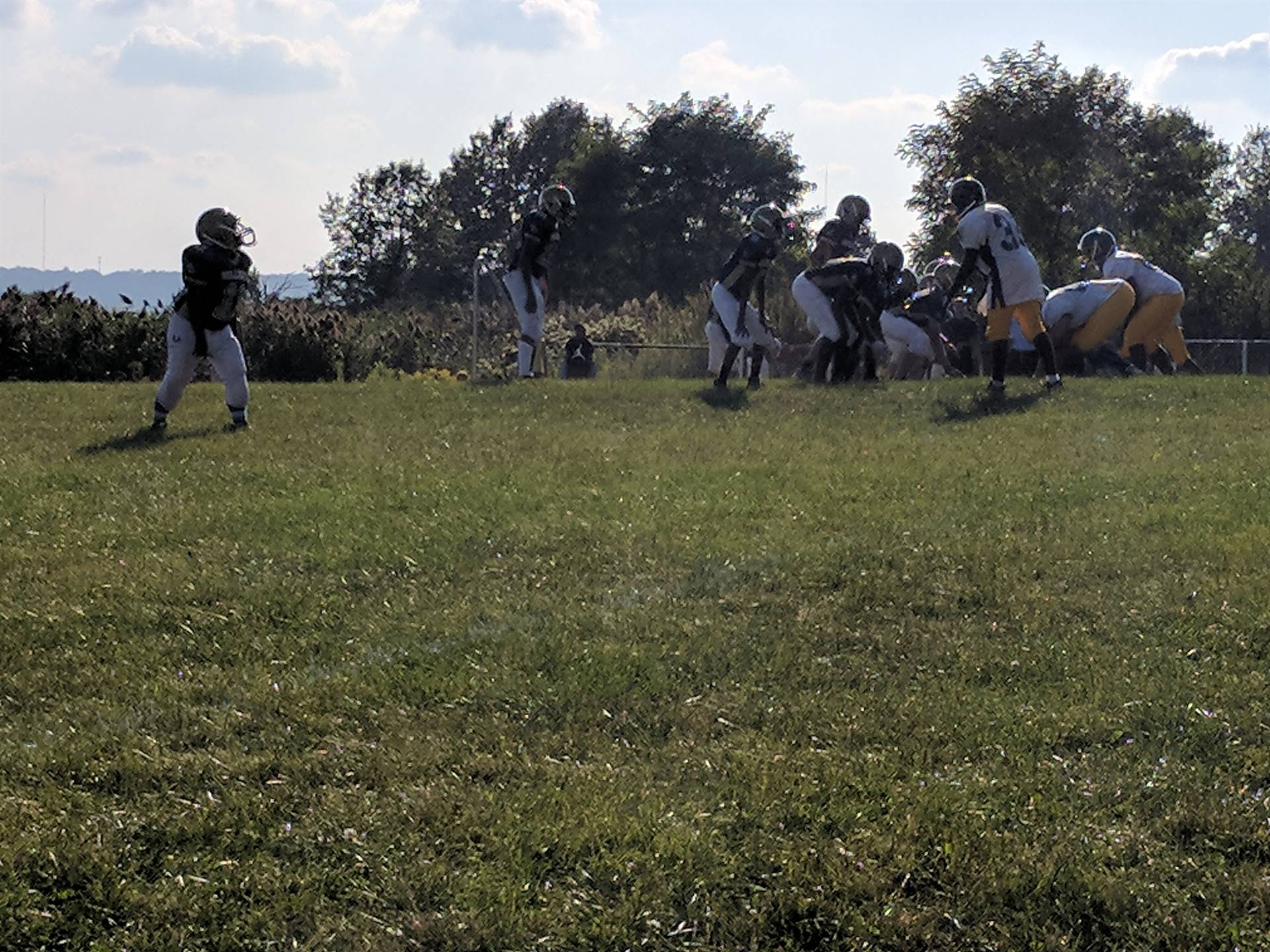 7th Grade Football game