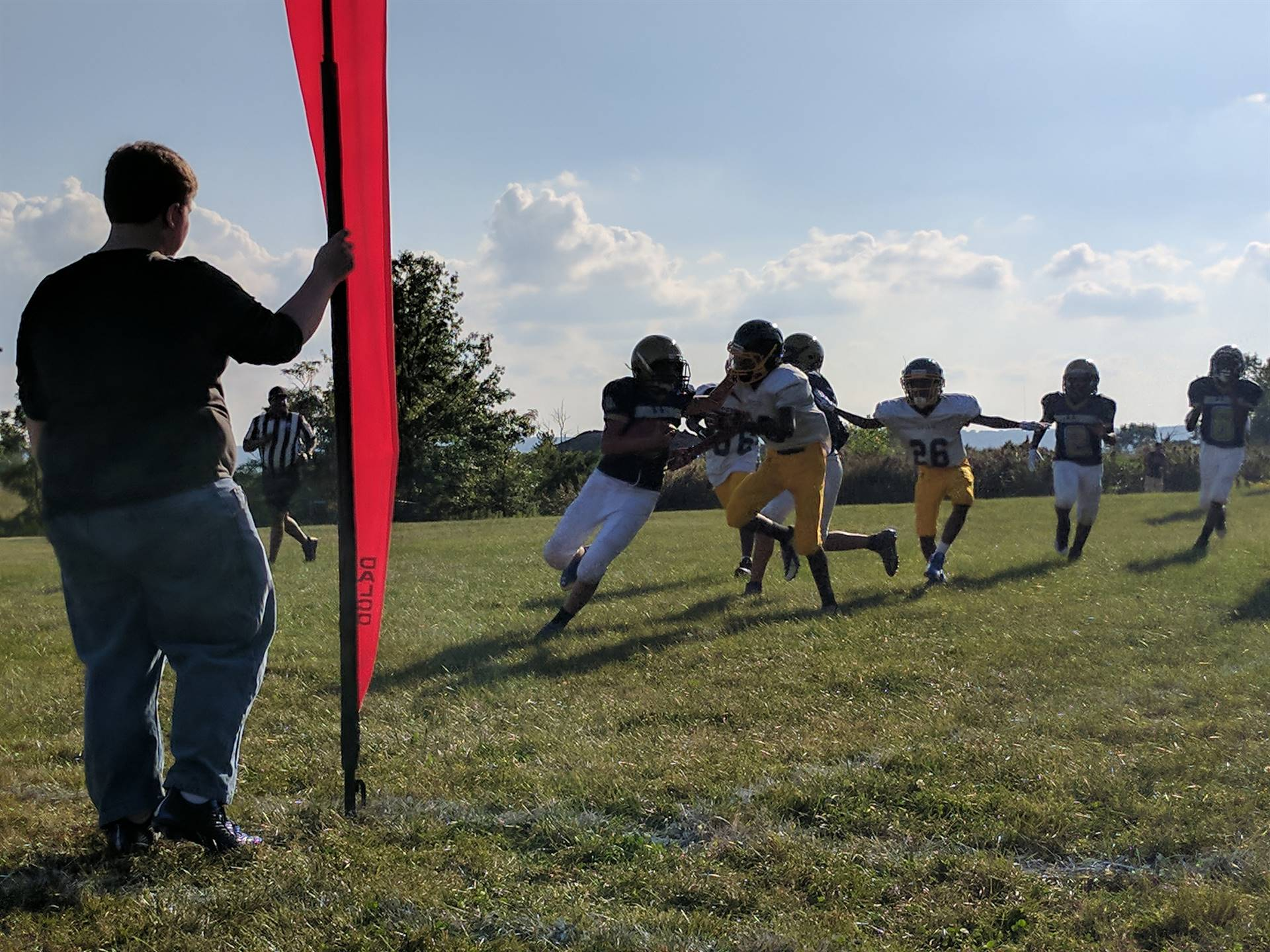 7th Grade Football game