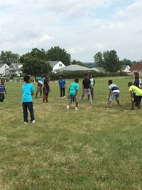 Football at recess