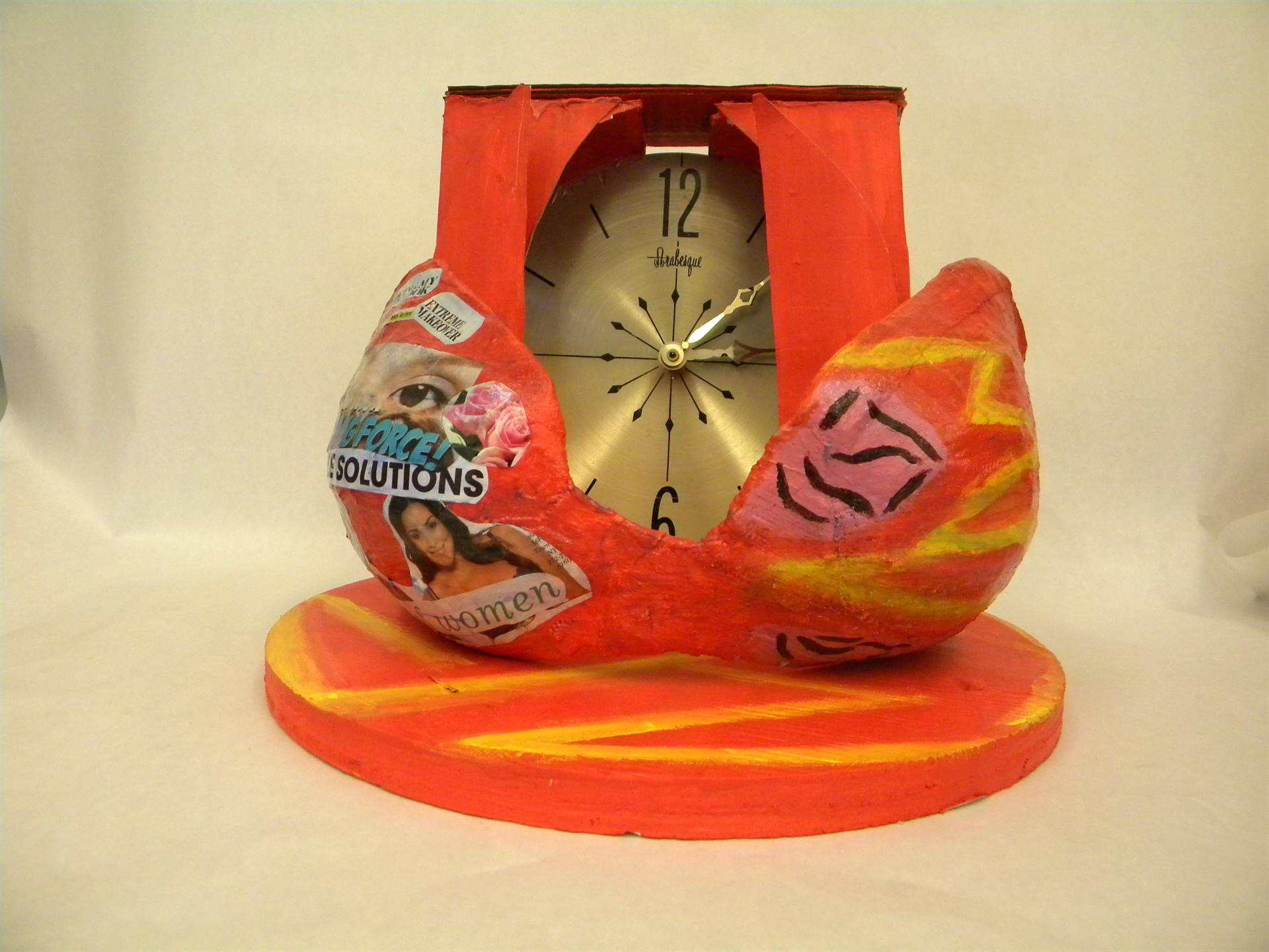 pictures from Art students entitled Time Heals All Wounds