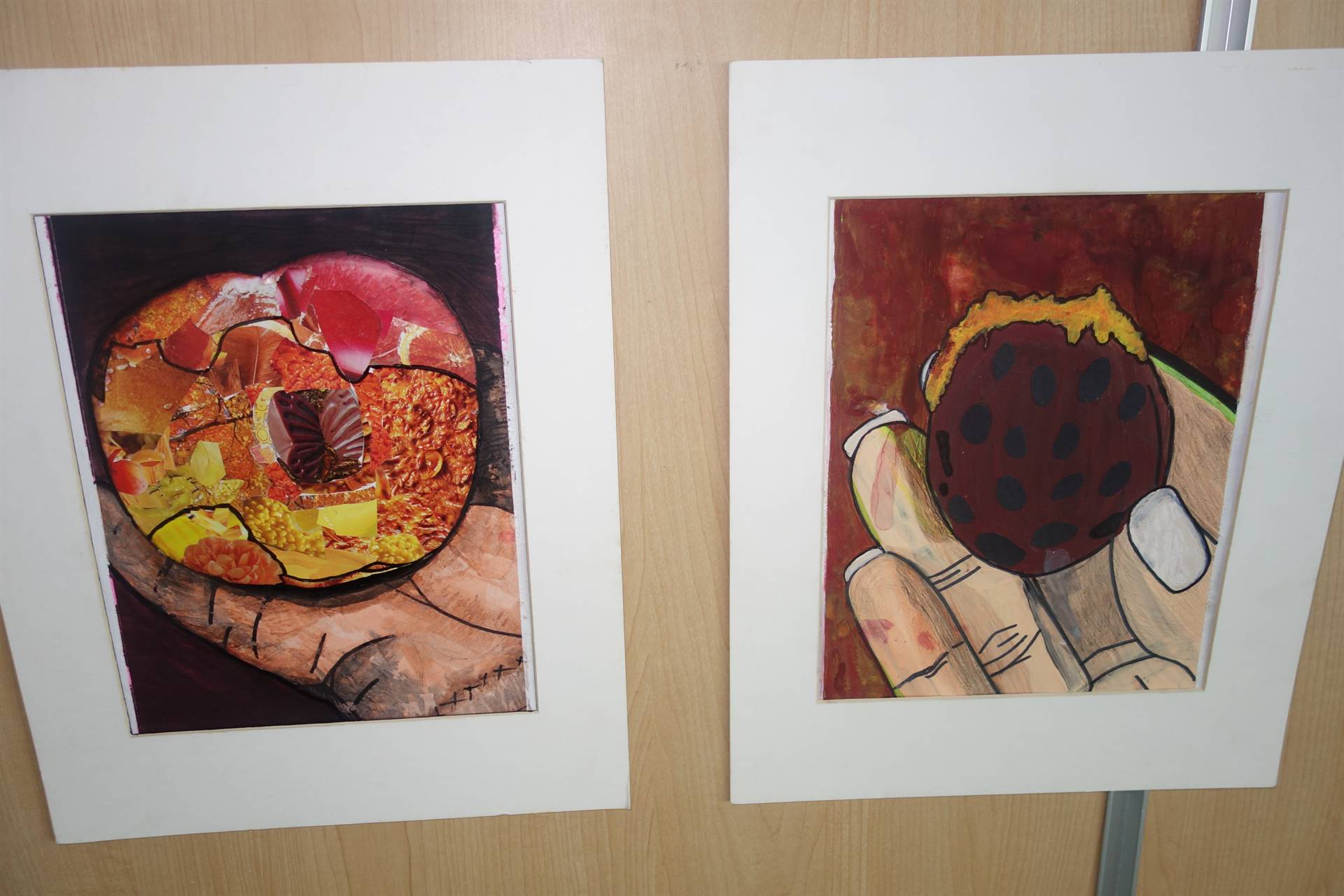 pieces submitted for the 2016-2017 Art Show