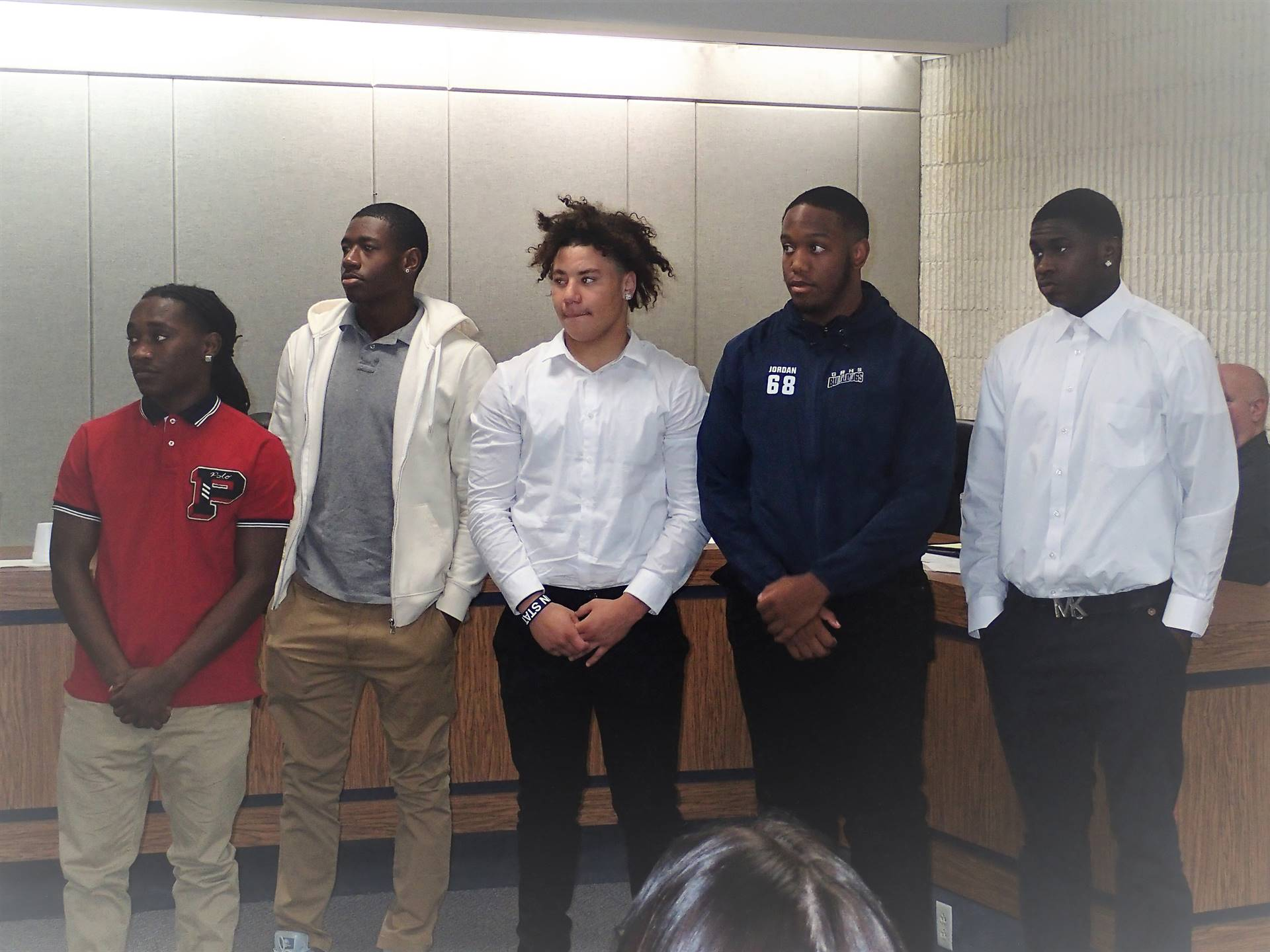 City Council Recognition of FB Team