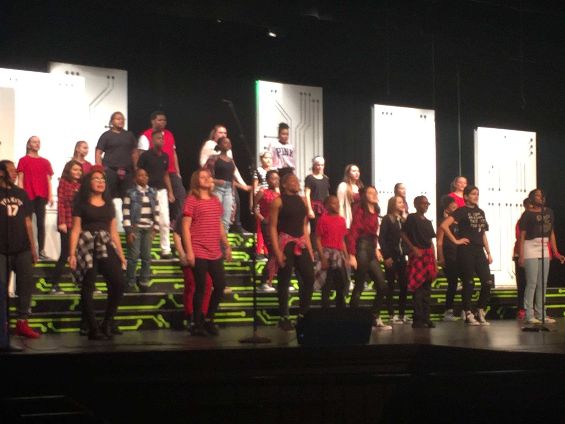 center stage at premier night