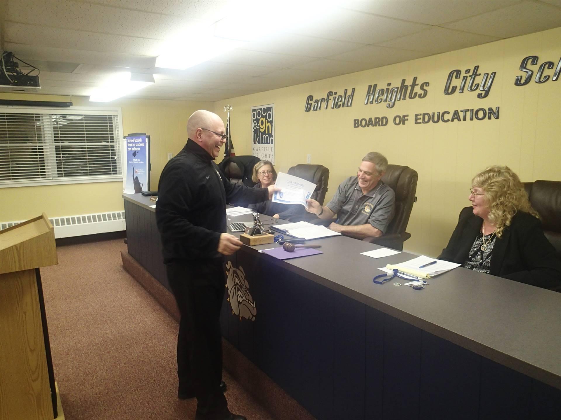 board members and Mr. Olszewski