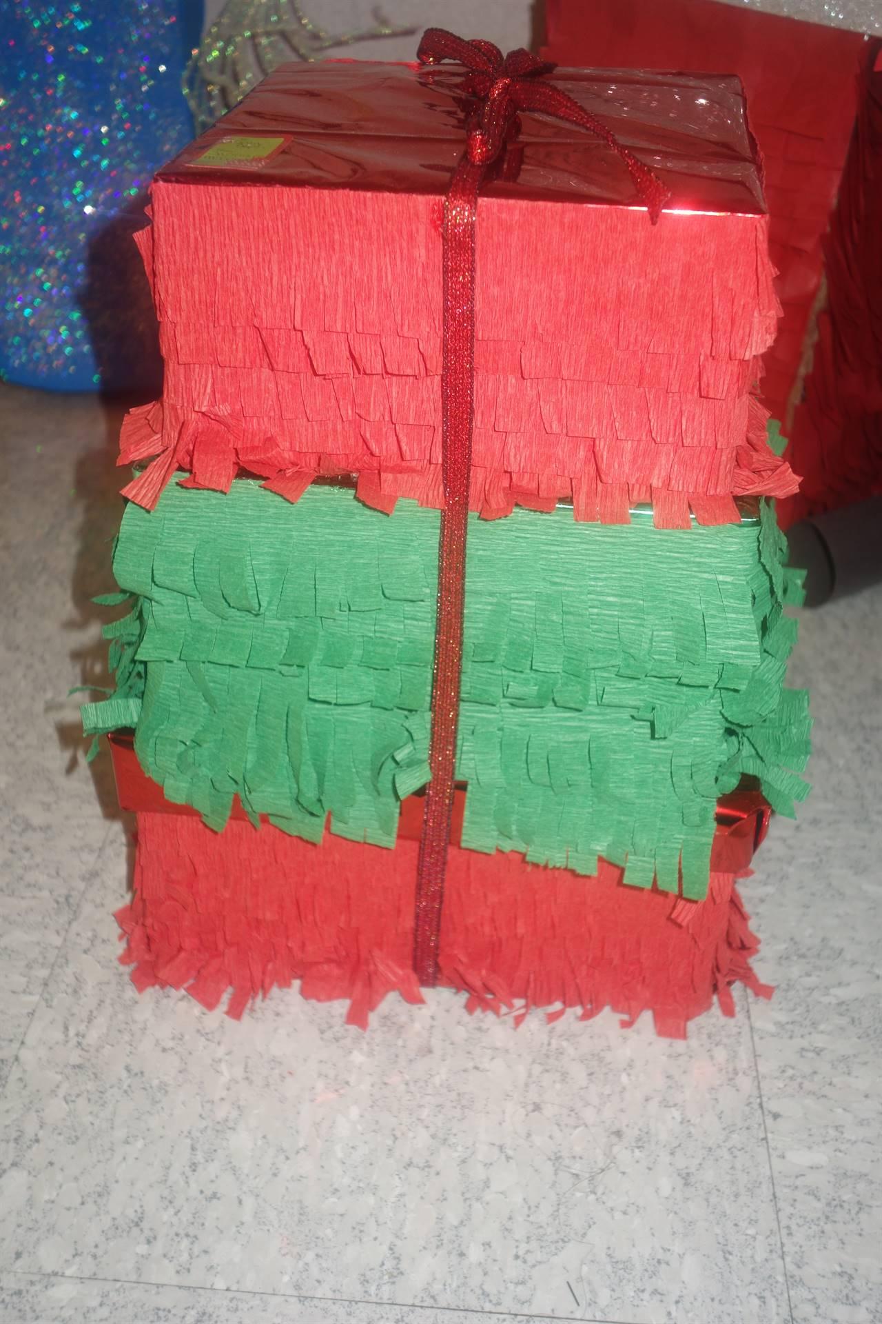 Christmas present pinata