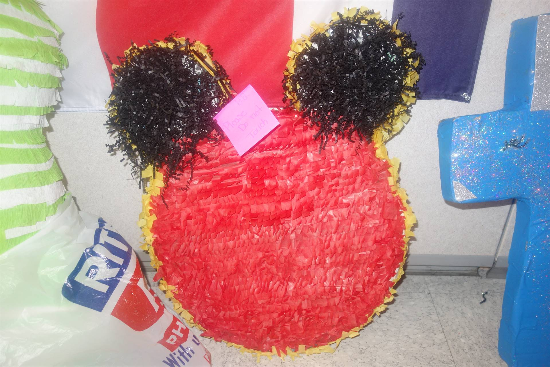 Mickey Mouse Ears pinata