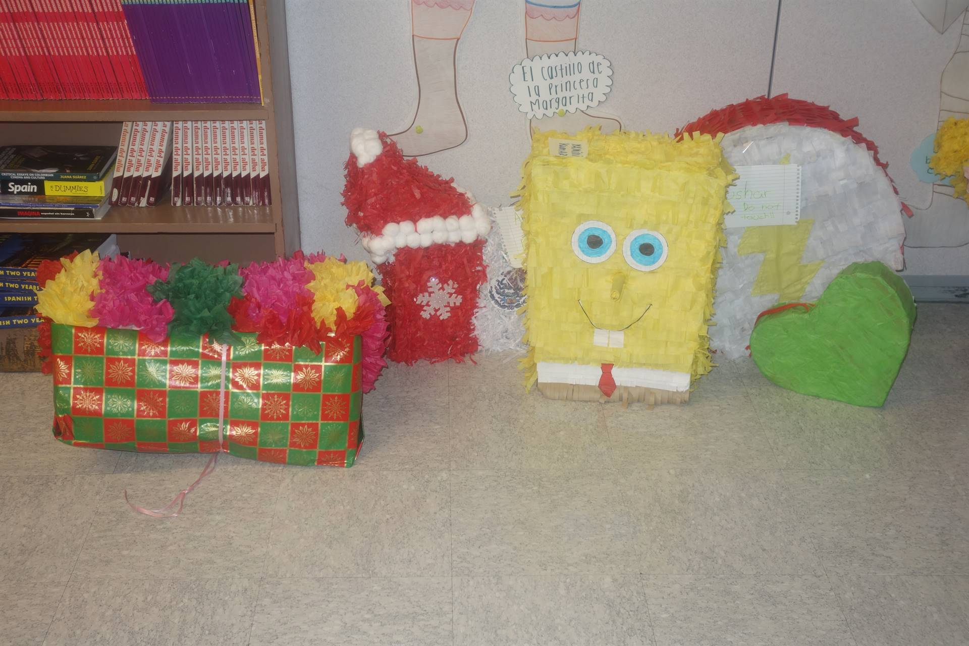group of pinatas