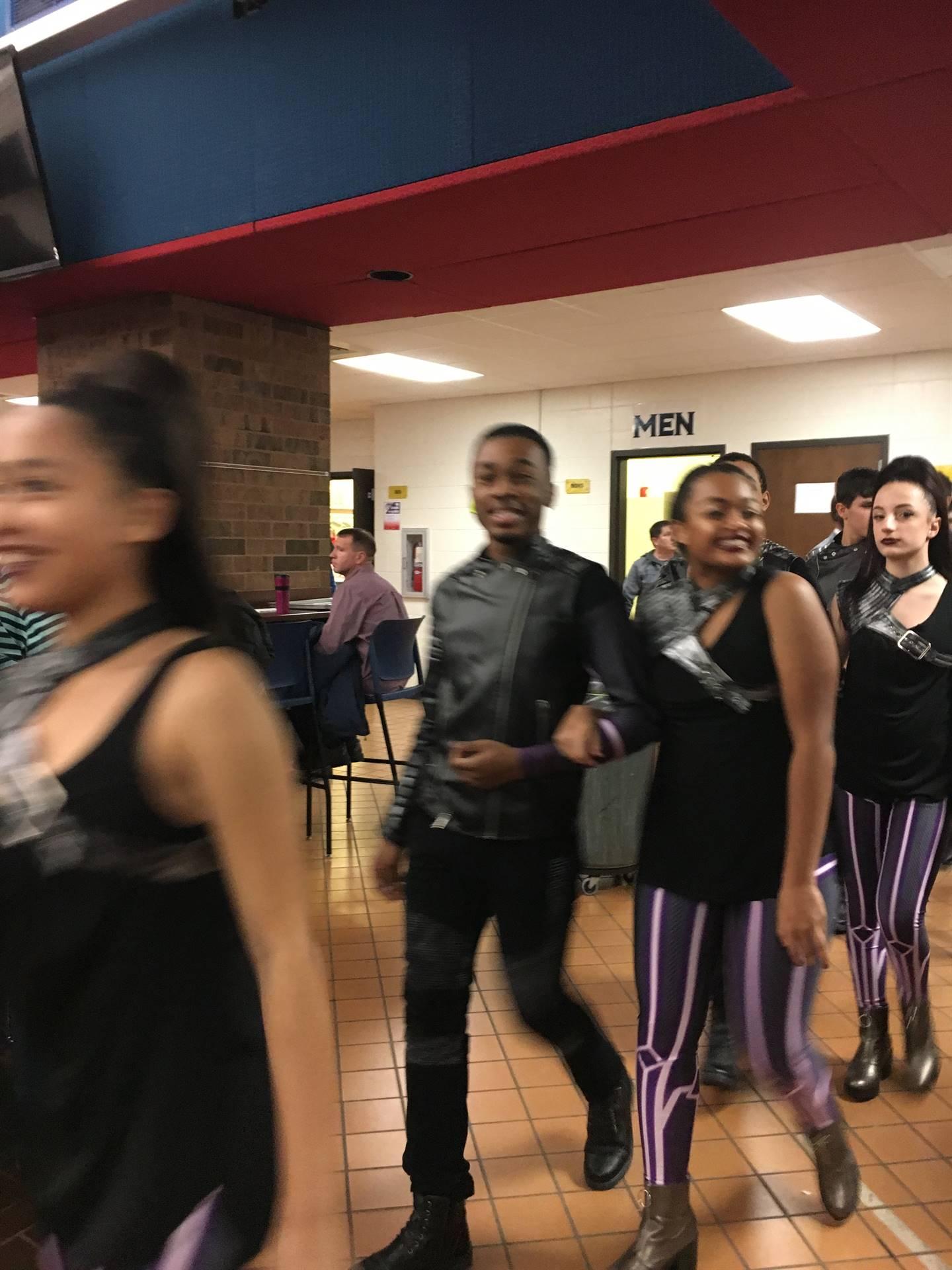 music express students at the piqua invitational