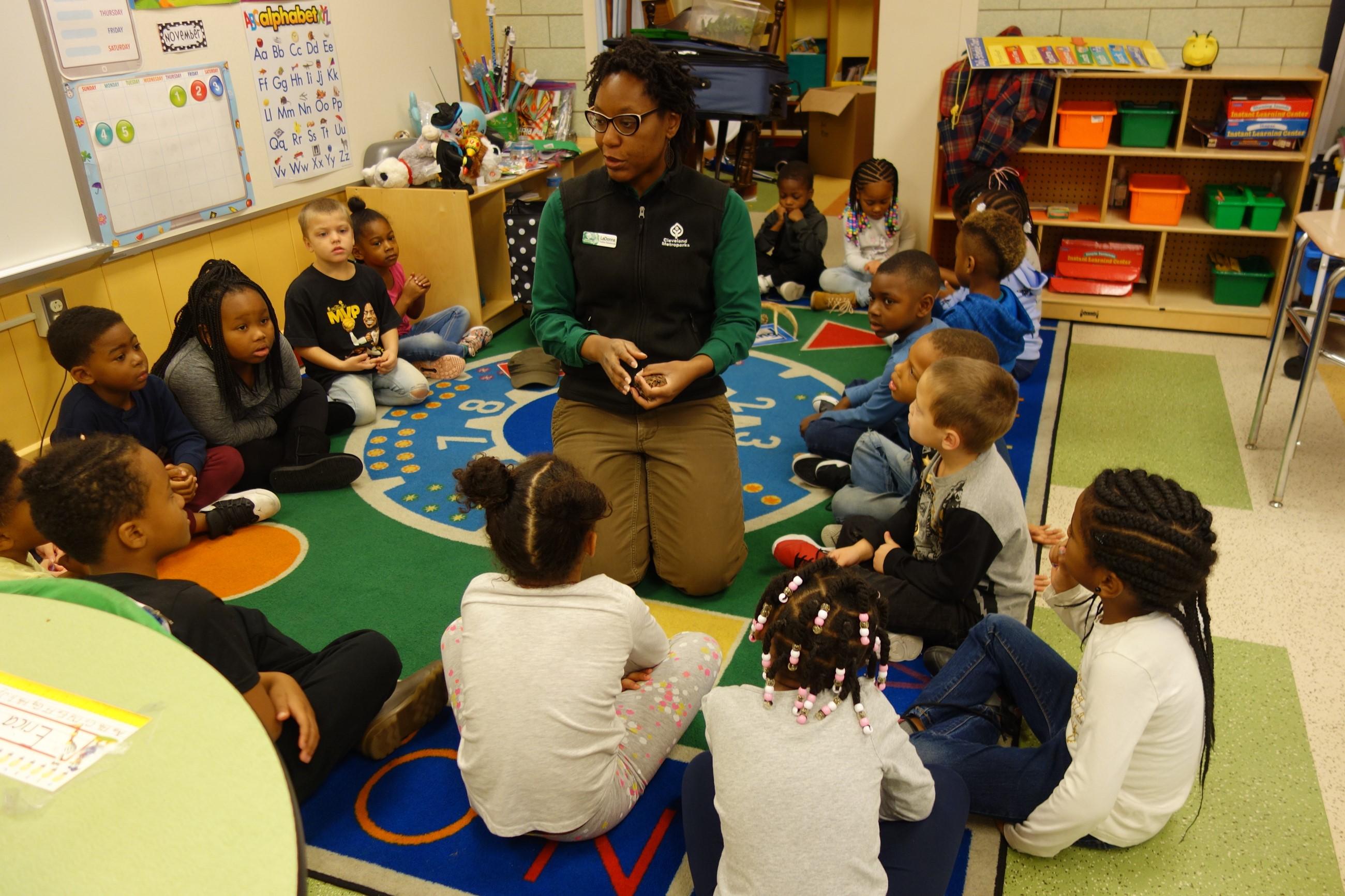 Metro Parks visit Kindergarten