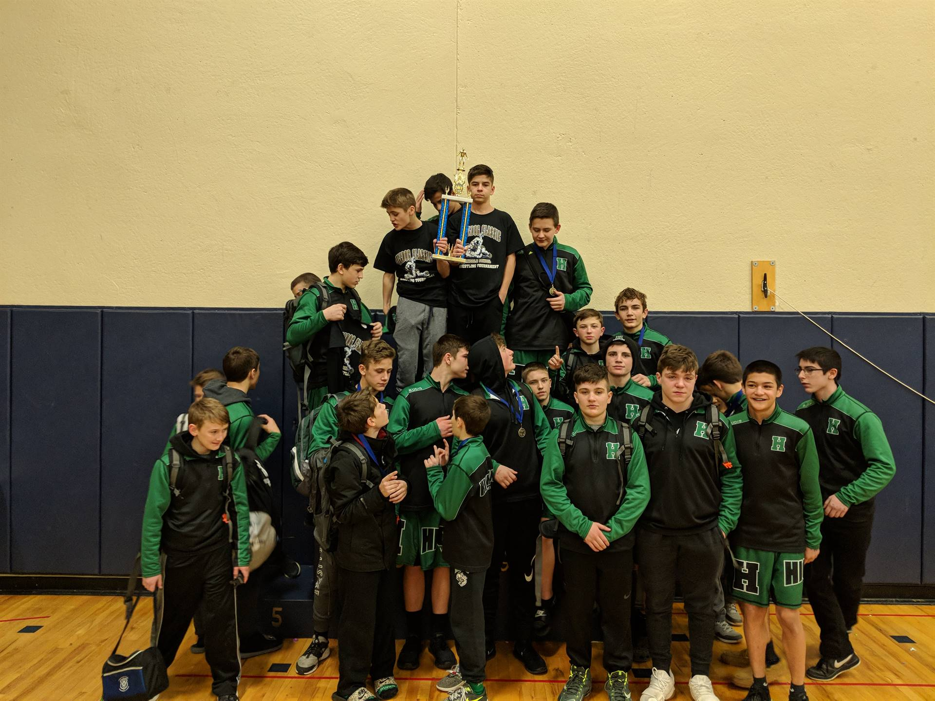 Bulldog Classic 2018 - Middle School Wrestling Team