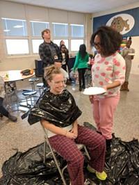 pie a teacher in the face