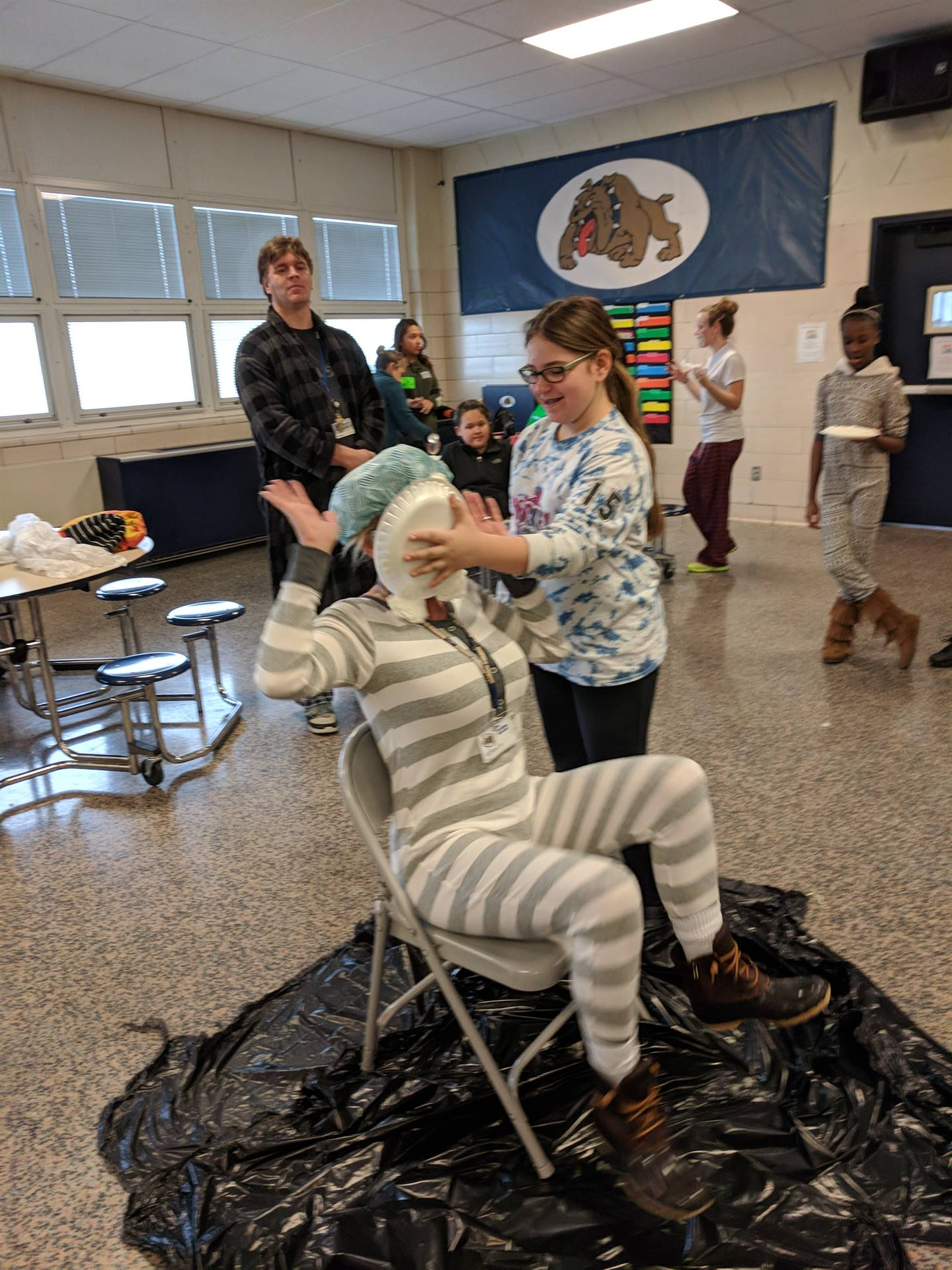 pie a teacher in the face