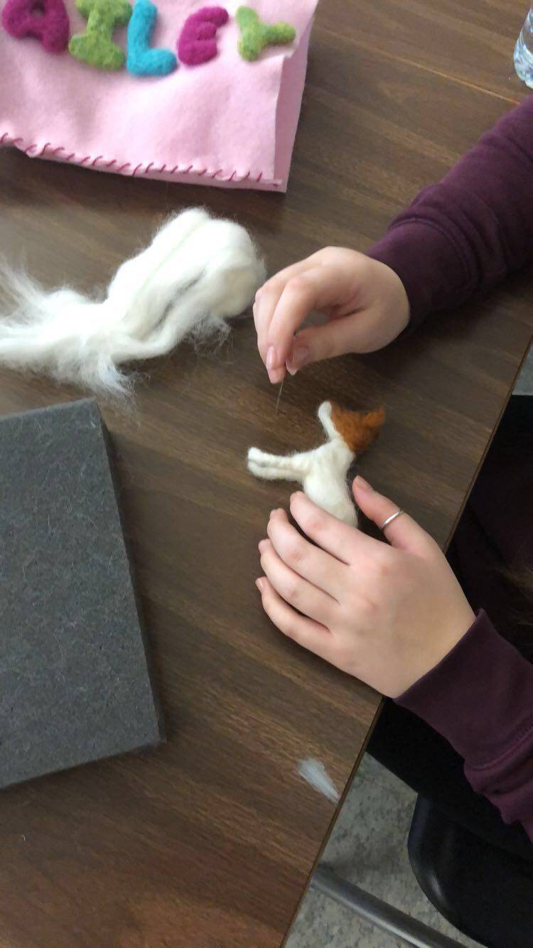 needle felting - animals