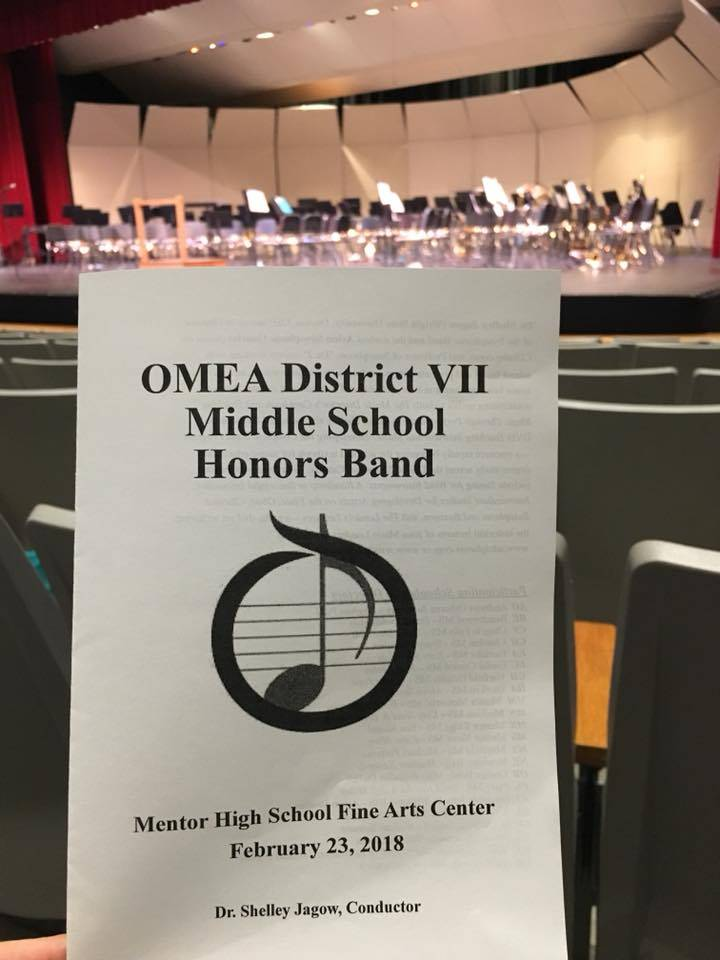 OMEA Honor Band program