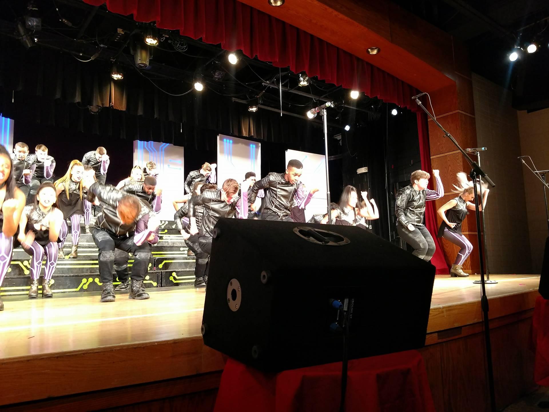 music express at Walsh Invitational