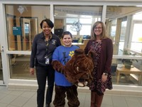 Mrs. Rizi, Mrs. Strickland and the Bulldog