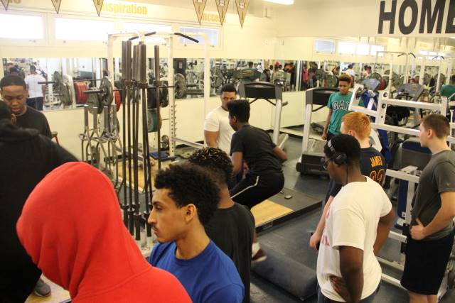 Football Sat Morning Workouts