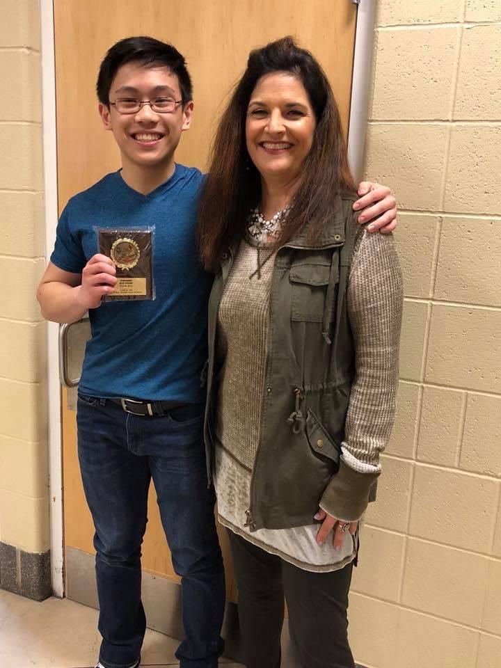 Outstanding Senior - Math - Noah Say