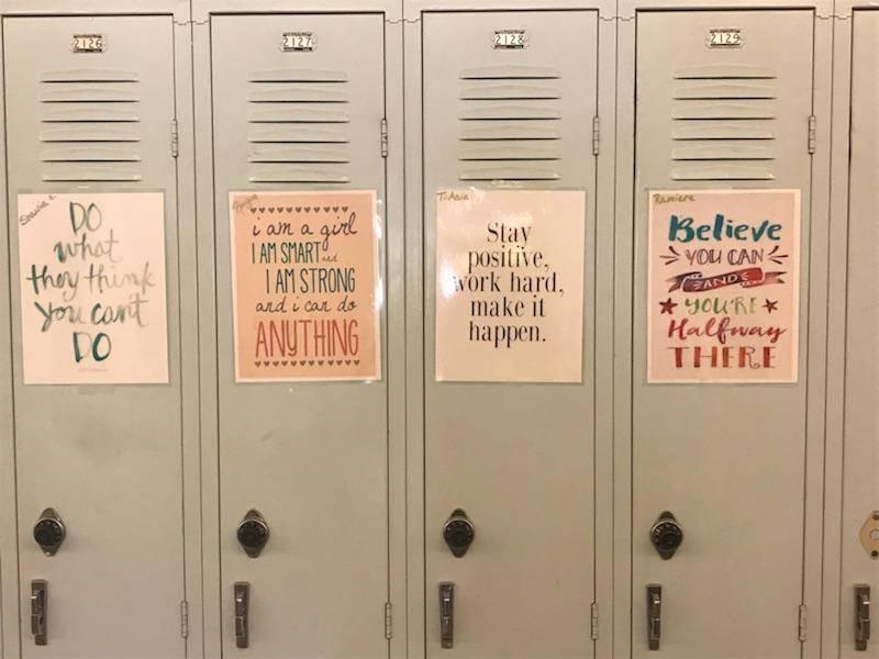 lockers for Team Pride