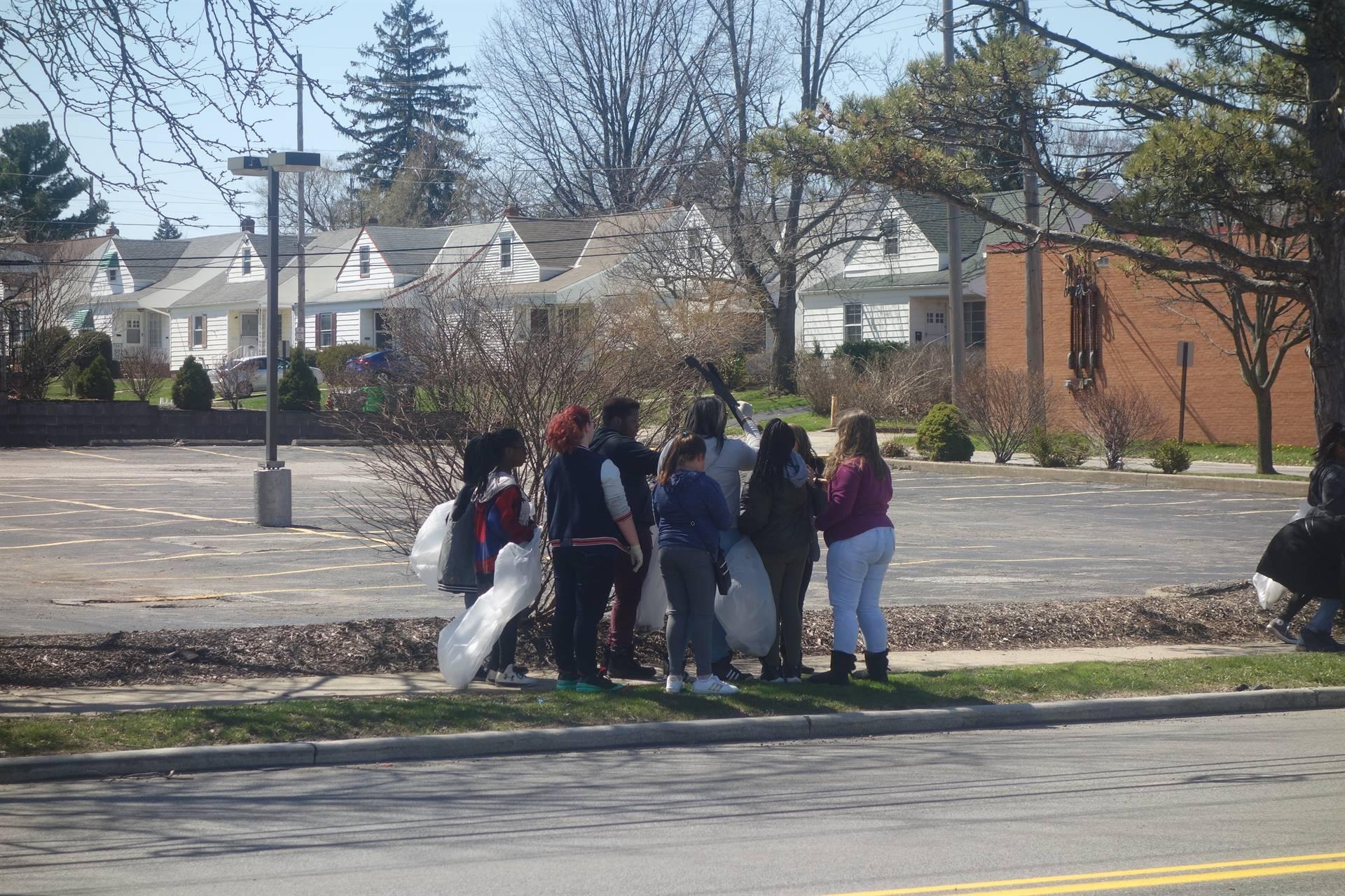 GHCS Street Clean-up - April 2018