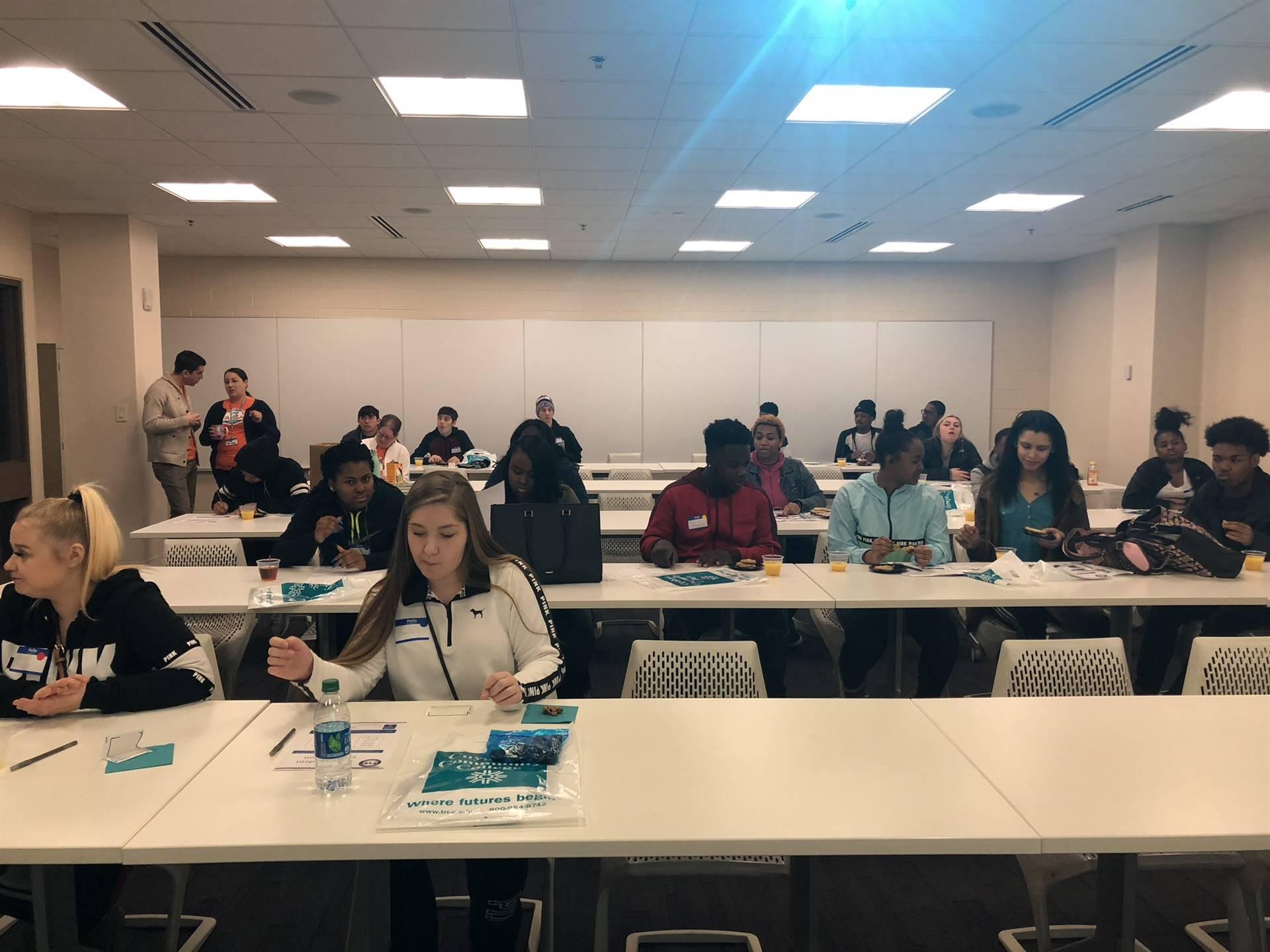 Senior Seminar to Tri-C - April 2018