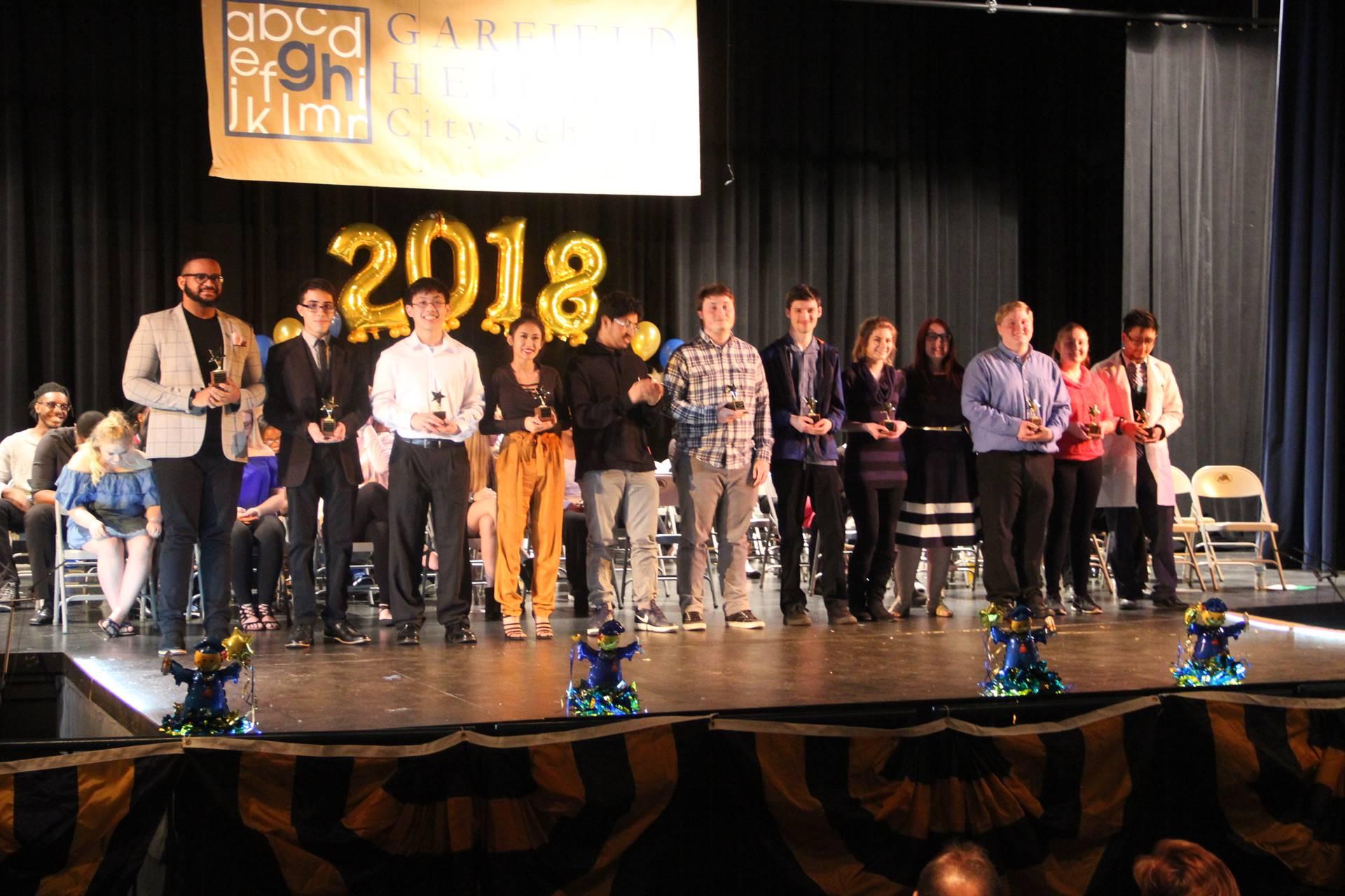 Senior Awards Night 2018