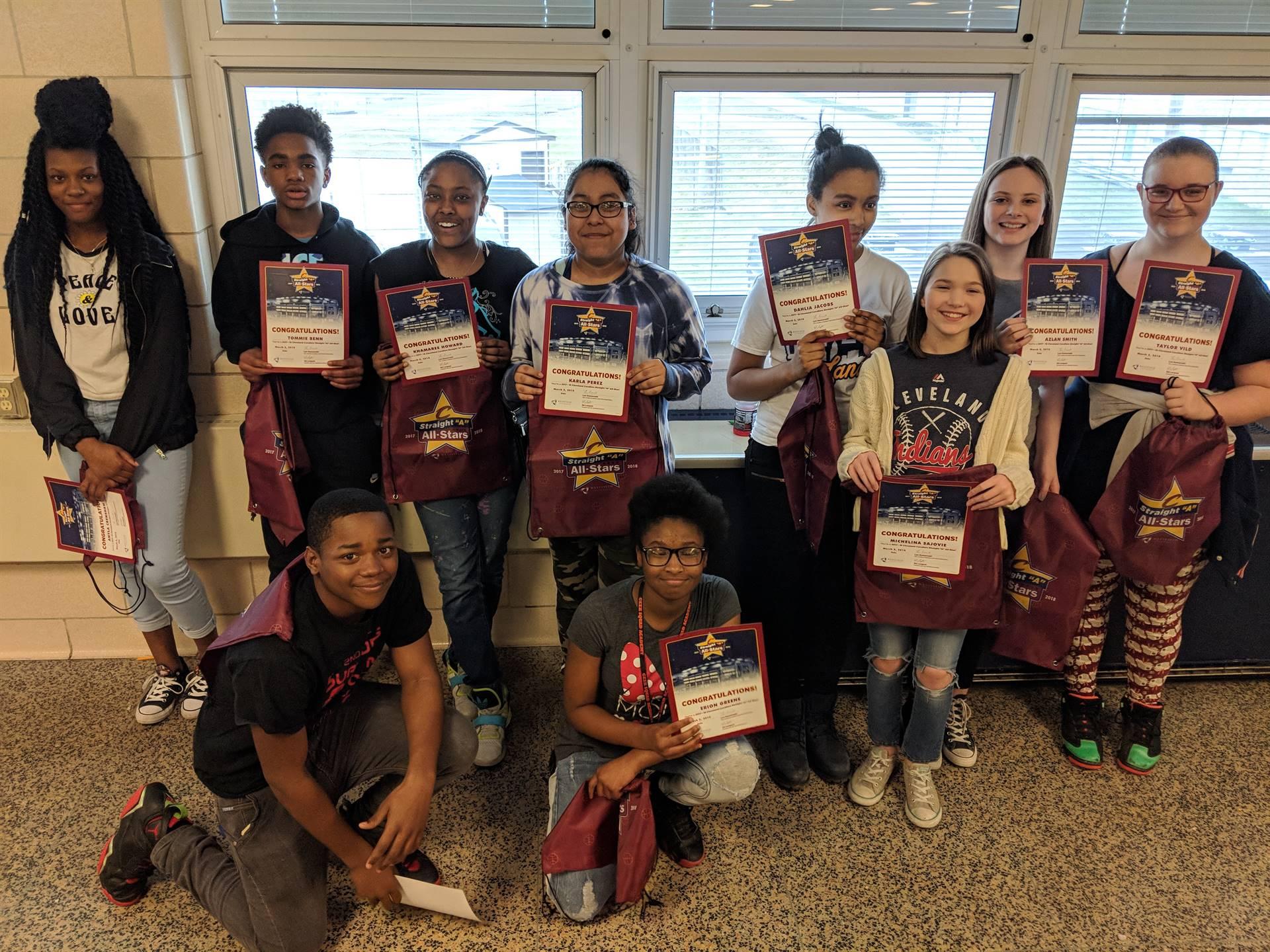 7th Grade All-Stars