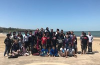 students at Edgewater Park