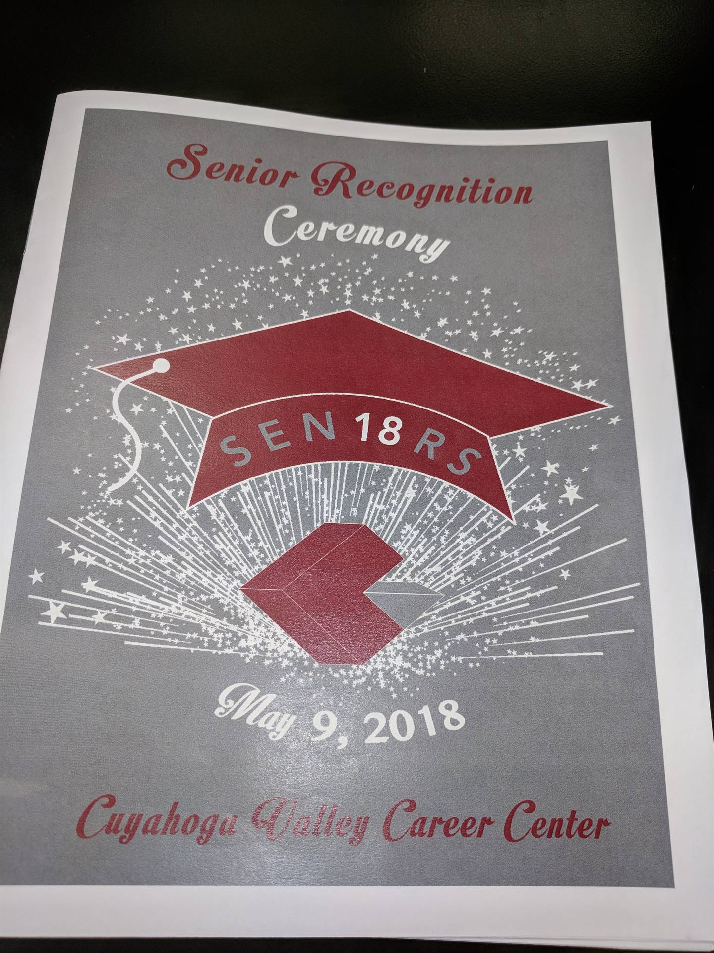 CVCC Senior Recognition Night 2018