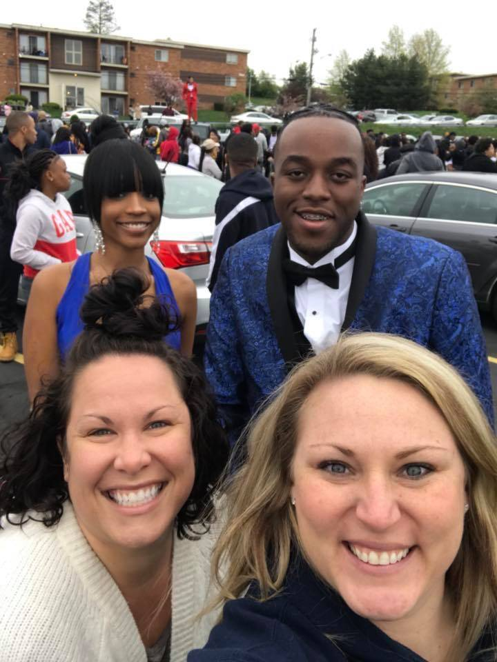 Staff Selfies from Prom 2018