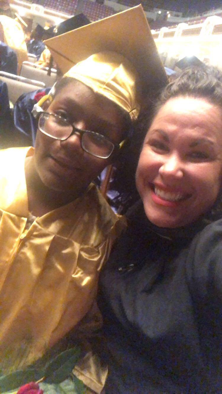 Staff Selfies from Commencement 2018