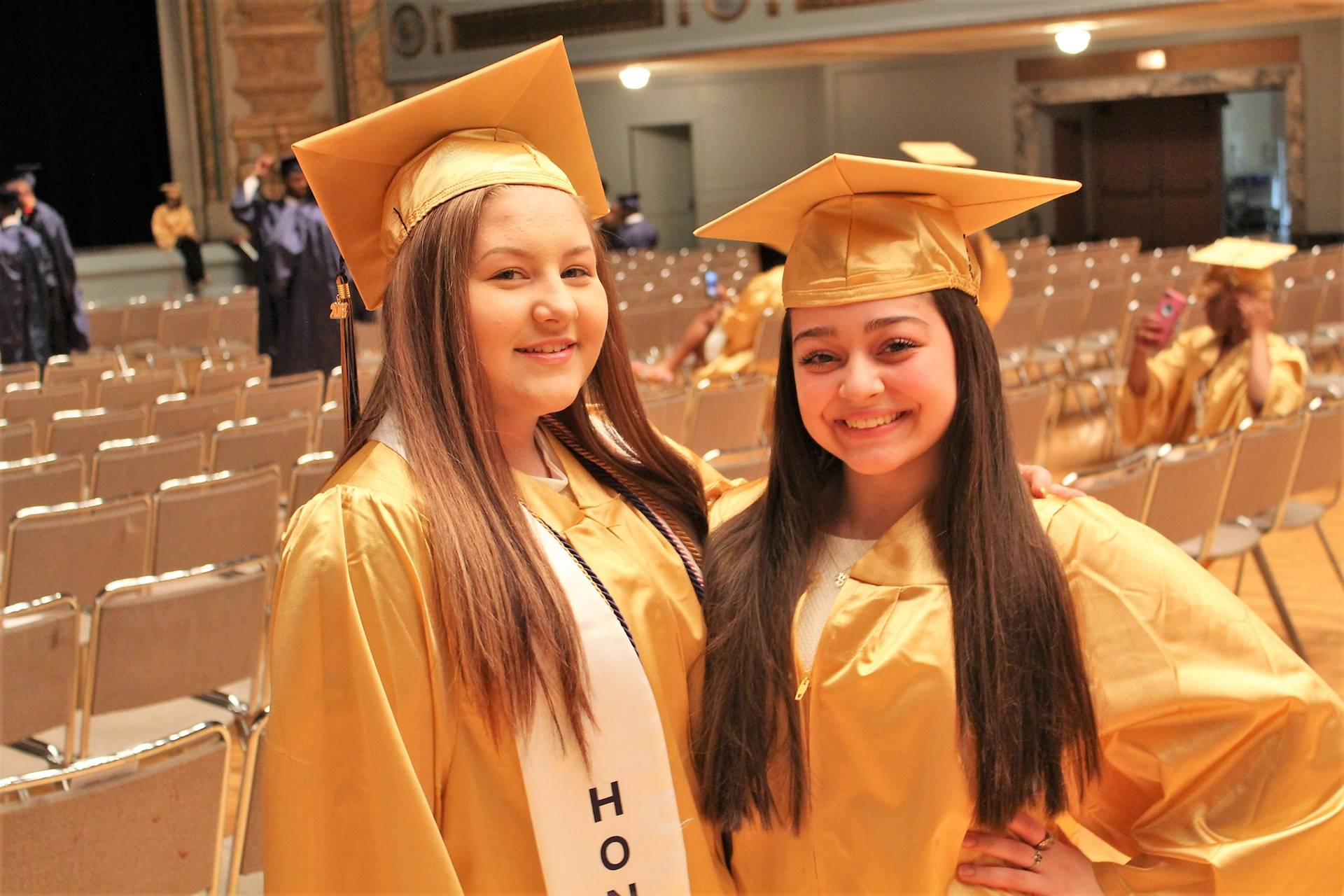Garfield Heights Commencement Candid Shot