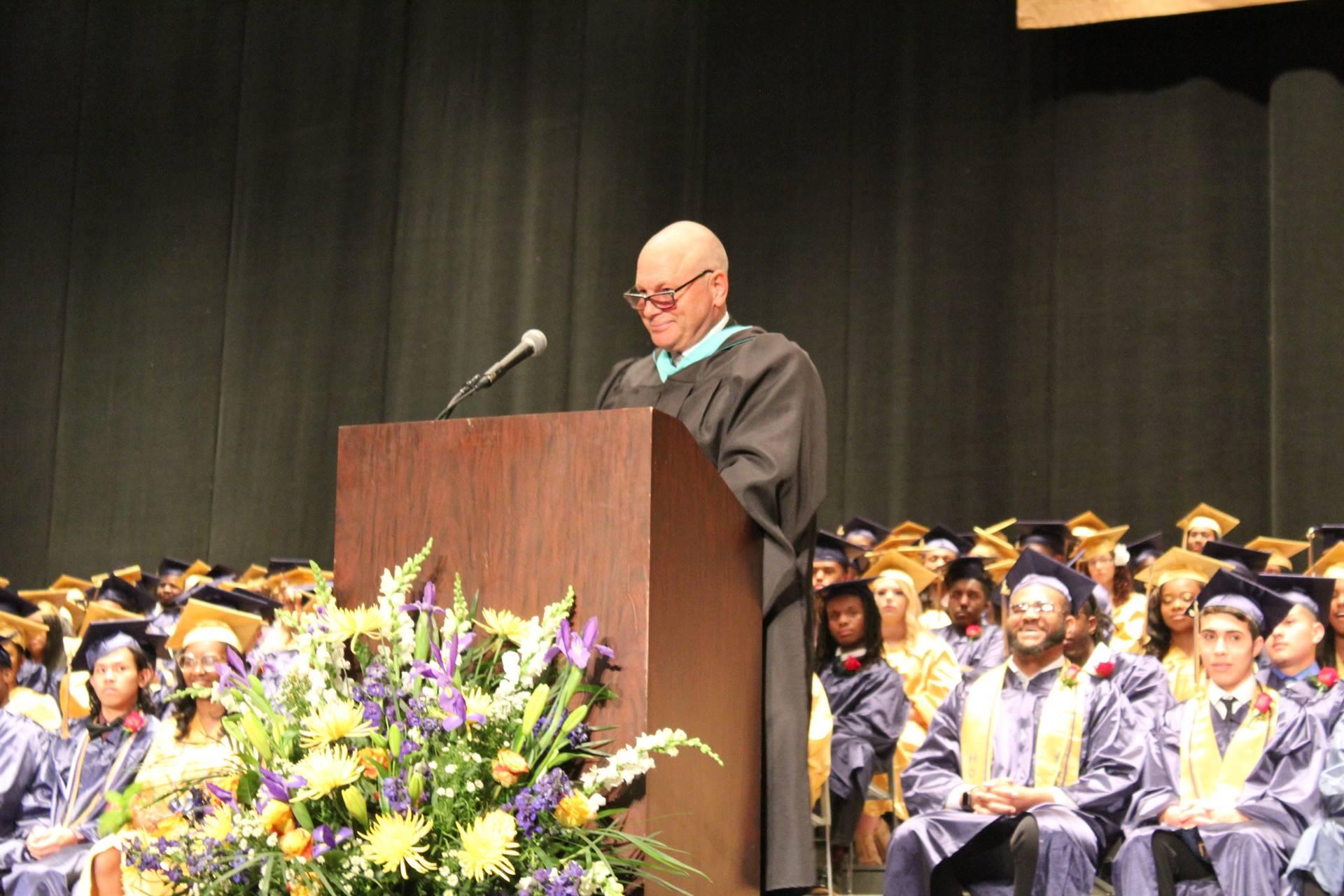 Mr. Olszewski Speaking