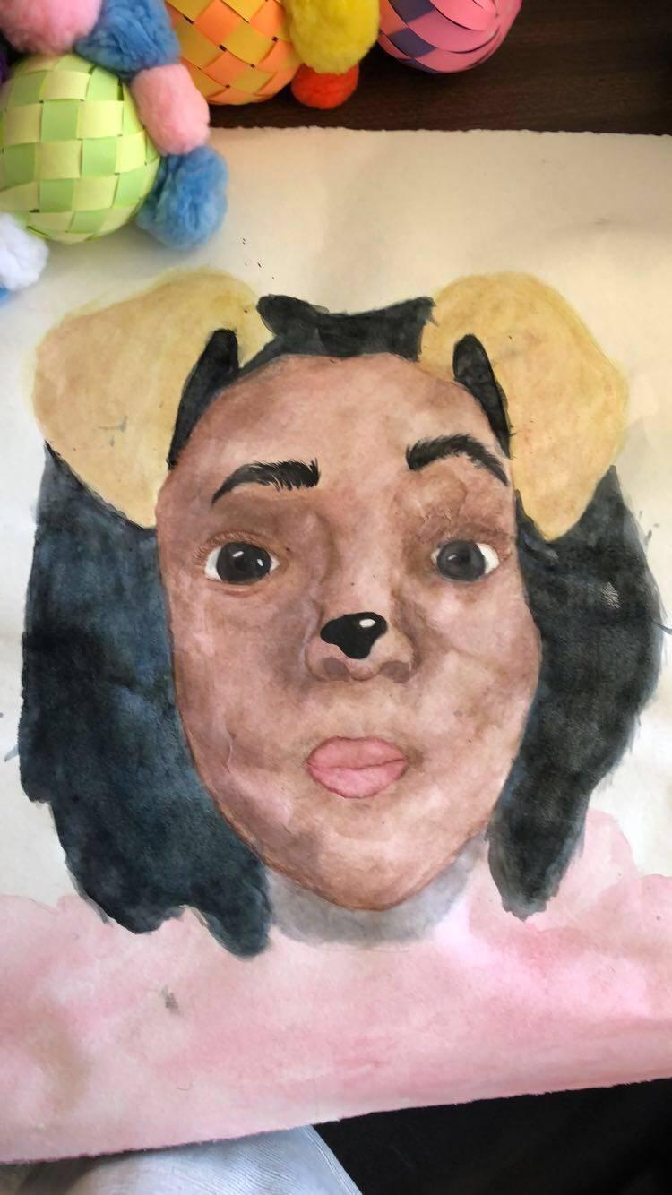 Art Snapchat Selfies & Batiking - May 2018