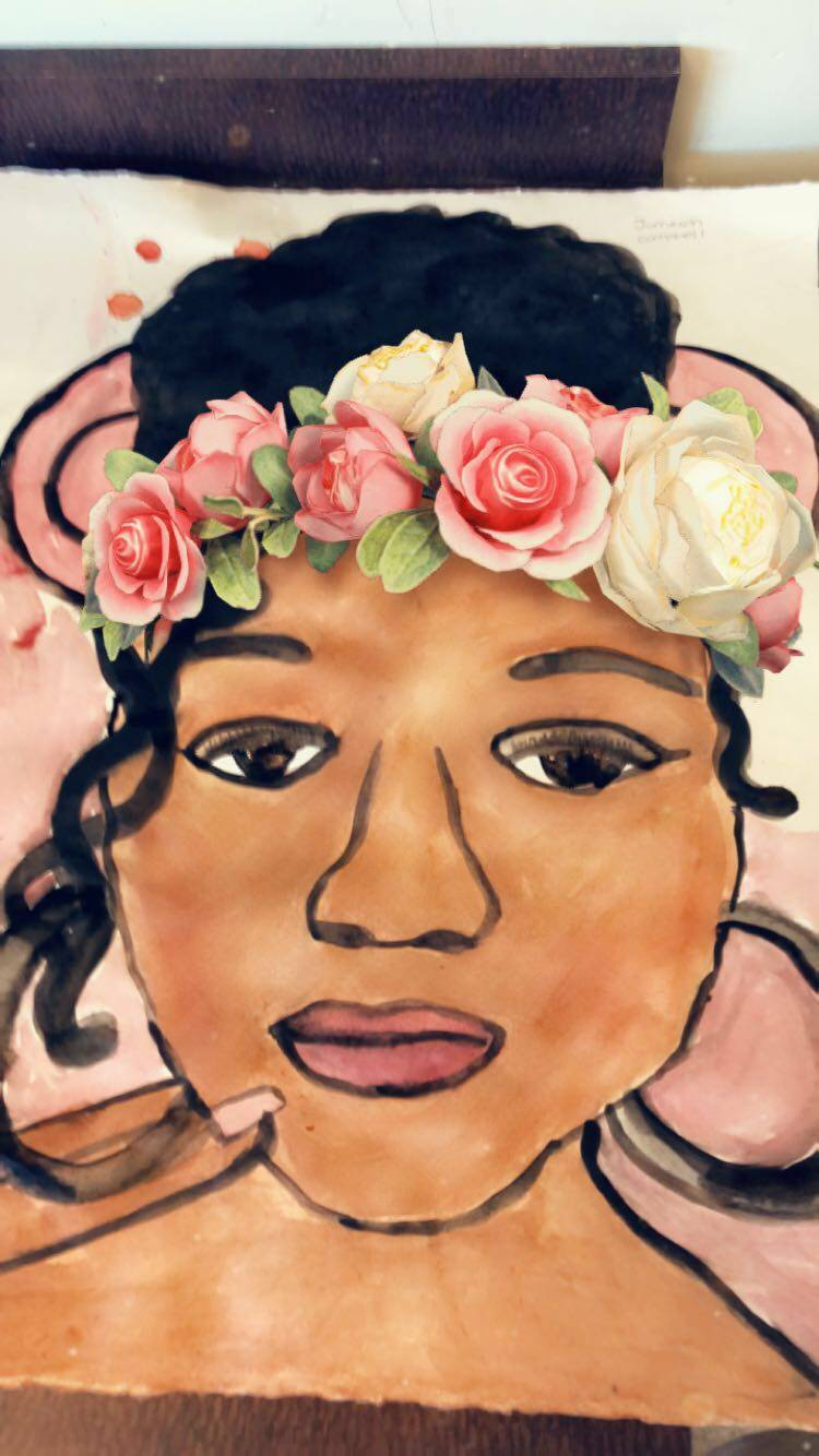 Art Snapchat Selfies & Batiking - May 2018