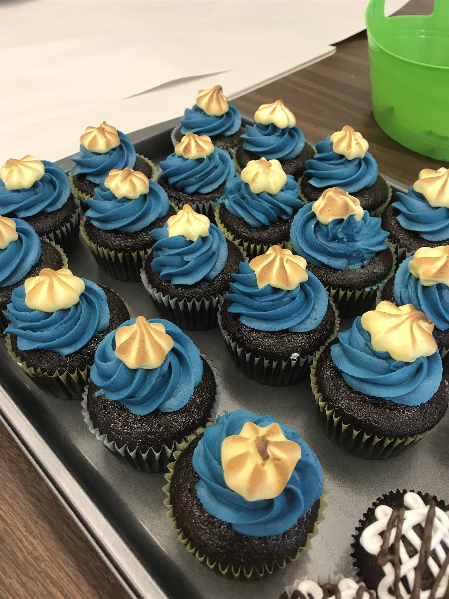 Food Tech - Bruleeing Marshmallow Meringue - May 2018