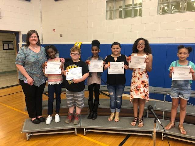K-Club Above and Beyond Award Recipients